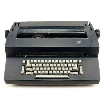 Ibm 4198s Correcting Selectric Ii 2 Retro Electric Typewriter Black Vintage Used