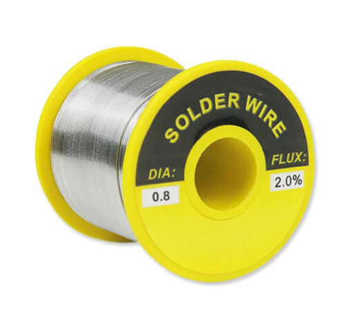 """60/40 Tin Lead Rosin Core Solder Wire Electrical Sn60 Pb40 Flux 0.31""""/0.8mm 7oz"""