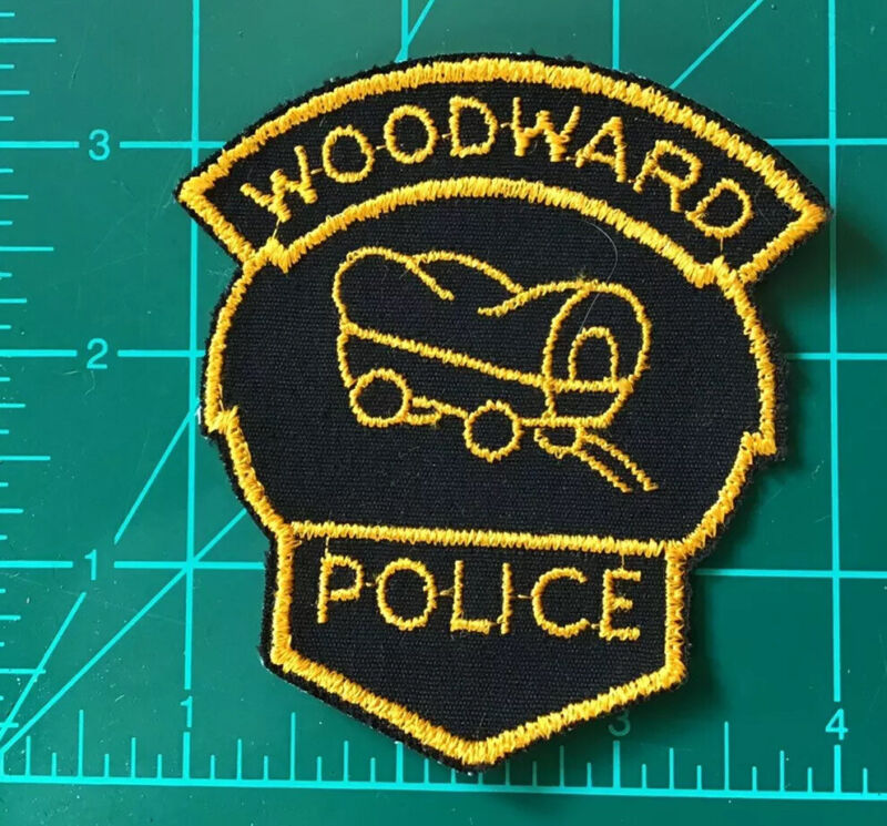 Obsolete US Police Patch Woodward Oklahoma OK