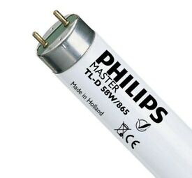 Philips fluorescent tube lights, 150cm( 5ft ) Daylight Brand New.