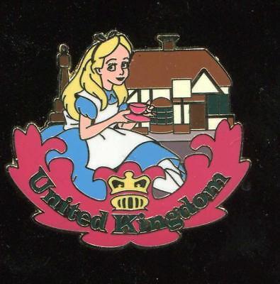 Epcot World Showcase Alice at the United Kingdom Pavilion Disney Pin 74081