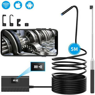 Breett Wireless Inspection Camera WIFI Borescope Endescope IP67 1080P HD Snake
