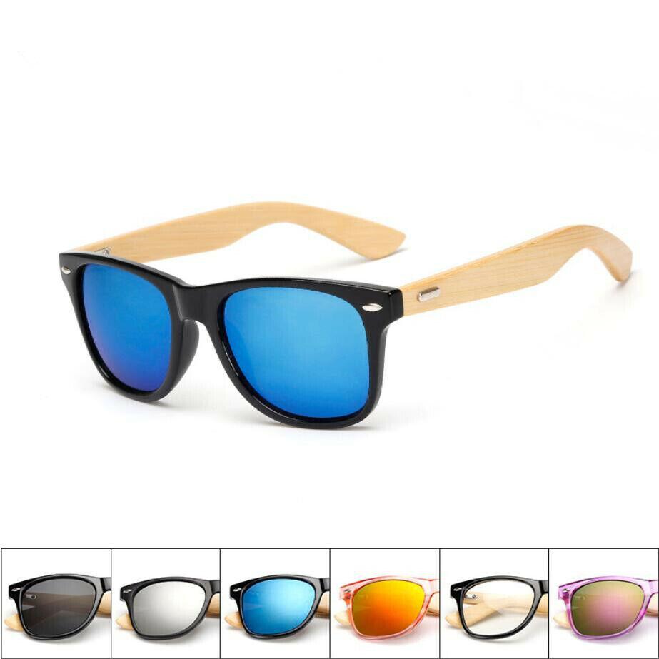 Summer Wood Sunglasses Men Women Bamboo Mirror Sun Glasses R