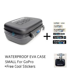 Waterproof-Hard-EVA-Case-Box-Bag-For-GoPro-Hero-4-3-3-2-Small-Size-Free-Sticker