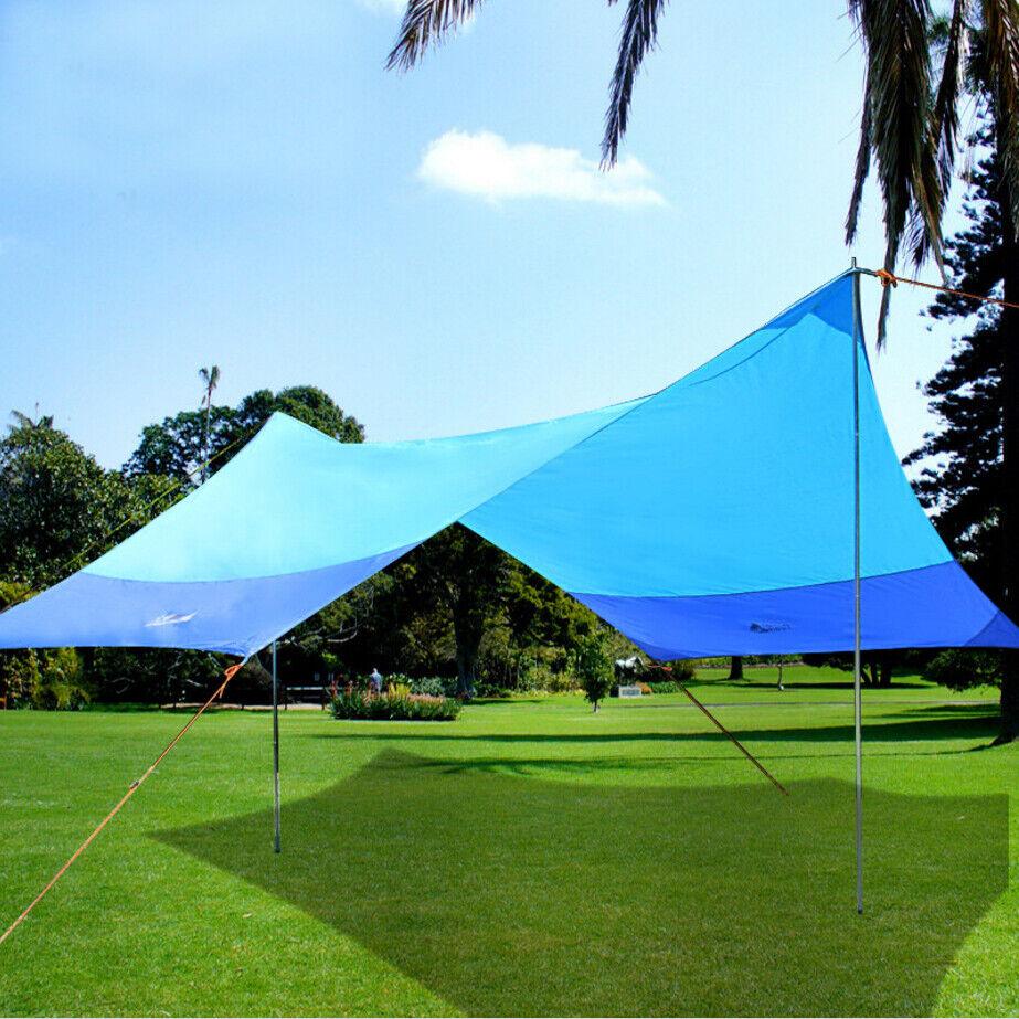 Portable Outdoor Picnic Camping Canopy Uv50 Sunshade