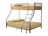 Brand New Triple Metal Bunk Bed CHEAPEST AND GAURENTEED QUALITY