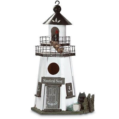 Lighthouse Nautical Nest Bird House