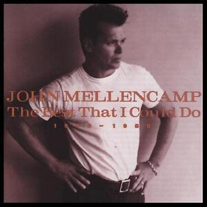 JOHN MELLENCAMP - BEST I COULD DO ~ GREATEST HITS CD ~ 80's POP ~ COUGAR *NEW*