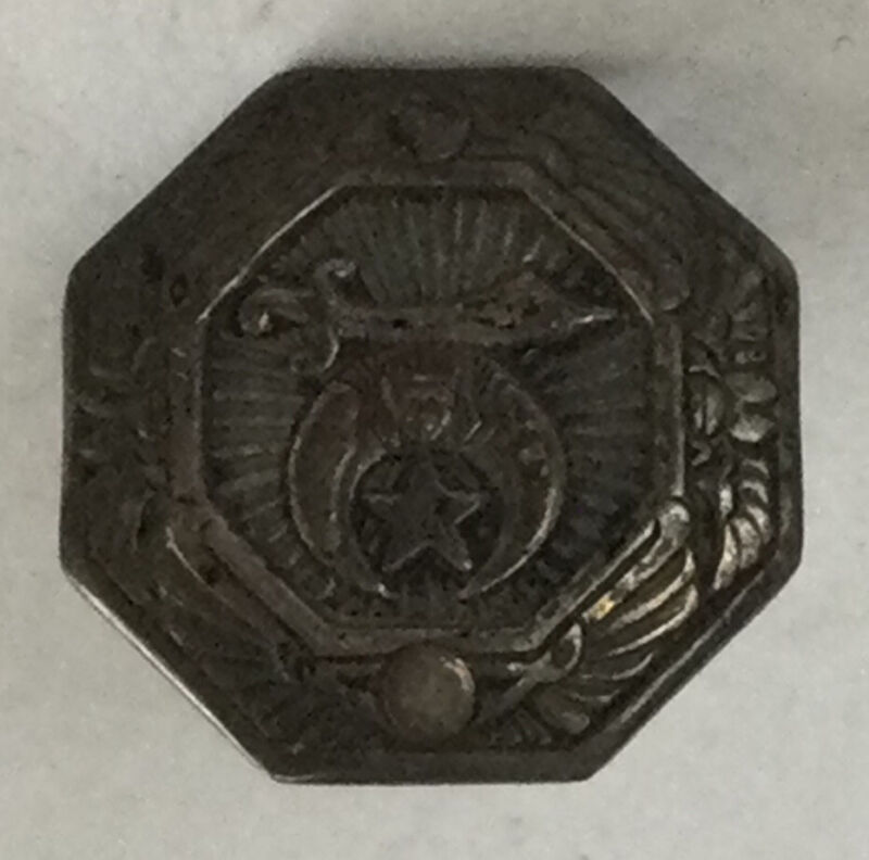 Really Cool Estate Vintage Sterling Silver 925 Shriners Fraternity Pin BT67