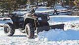 Atv snow plow
