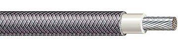 12 Ga. Black 392 F High-temperature Wire Srml - Price Per 10 Feet