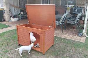 Near New Large Pinnacle Dog Puppy Kennel Pet Shack Kuraby Brisbane South West Preview