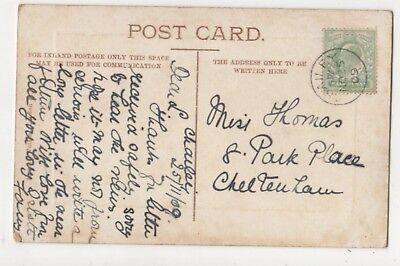 Chailey 25 Nov 1909 Single Ring Postmark 849b