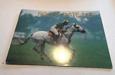 Rolex Datejust Booklet Original Libricino X Referenze Datejust Spain 1989-90-91, usado comprar usado  Enviando para Brazil