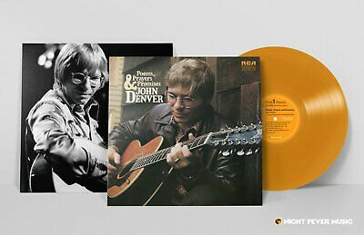 "John Denver POEMS PRAYERS and PROMISES Vinyl LP LIMITED EDITION ""SUNSHINE"" 180G"