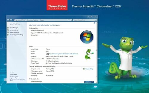 Thermo Dionex Chromeleon 7.2 on HP Win7 or Win10 PC with 3D and multiple options