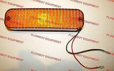 Cab Led Amber Warning Light For John Deere Allis Chalmers White Massey Ferguson