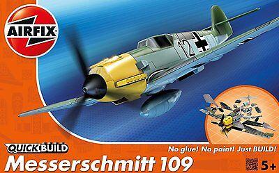 Hornby AirFix Quickbuild Quick Build Model Kit No Glue-Paint Messerschmitt J6001
