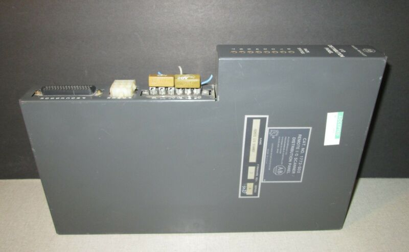 USED ALLEN BRADLEY REMOTE I/O SCANNER DISTRIBUTION PANEL 1772-SD2 SERIES A (VV3)