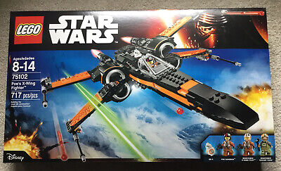 LEGO 75102 STAR WARS POE'S X-WING FIGHTER BB-8 Minifigure NEW IN BOX *RETIRED*