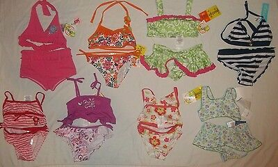 NEW 2 PIECE INFANT/TODDLERS GIRL SIZE 12 18 24 MONTHS 2T 3T 4T SWIMSUIT PICK ONE ()