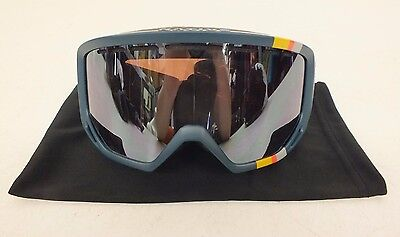 5f71df703a2 Native Eyewear Coldfront Teal Roth Ski Snowboard Goggles w Bronze Lens NEW  LOOK