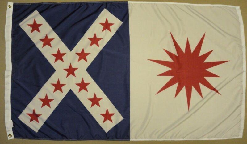 Rappahannock Cavalry Virginia VA Indoor Outdoor Historical Dyed Nylon Flag 3X5