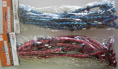 2 Stück SPINNE Gepäckspanner Spanngurte Spanngurt Spannweite 60-90 cm Spanner