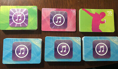 60 Apple Music ITunes cards NO VALUE Collectible Gift Cards, Crafts Various for sale  Shipping to India