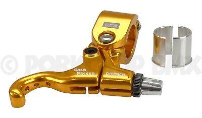 BMX MX BRAKE LEVER Diatech Tech 99DS Gold 1 Finger Right Lever 22.2MM//25.4MM