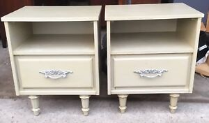 Set Of Solid Wood Single Drawer Malcolm Nightstands