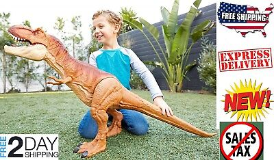 Giant T-Rex Kids Jurassic Park Toy Eat other Toys Colossal Tyrannosaurus Rex
