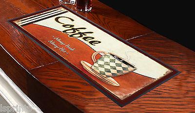 Café Always Fresh toalla de Bar Ideal Para El Hogar Cocktail Fiestas OFERTA SHOP