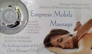 Mobile massage $70 for 1 hour