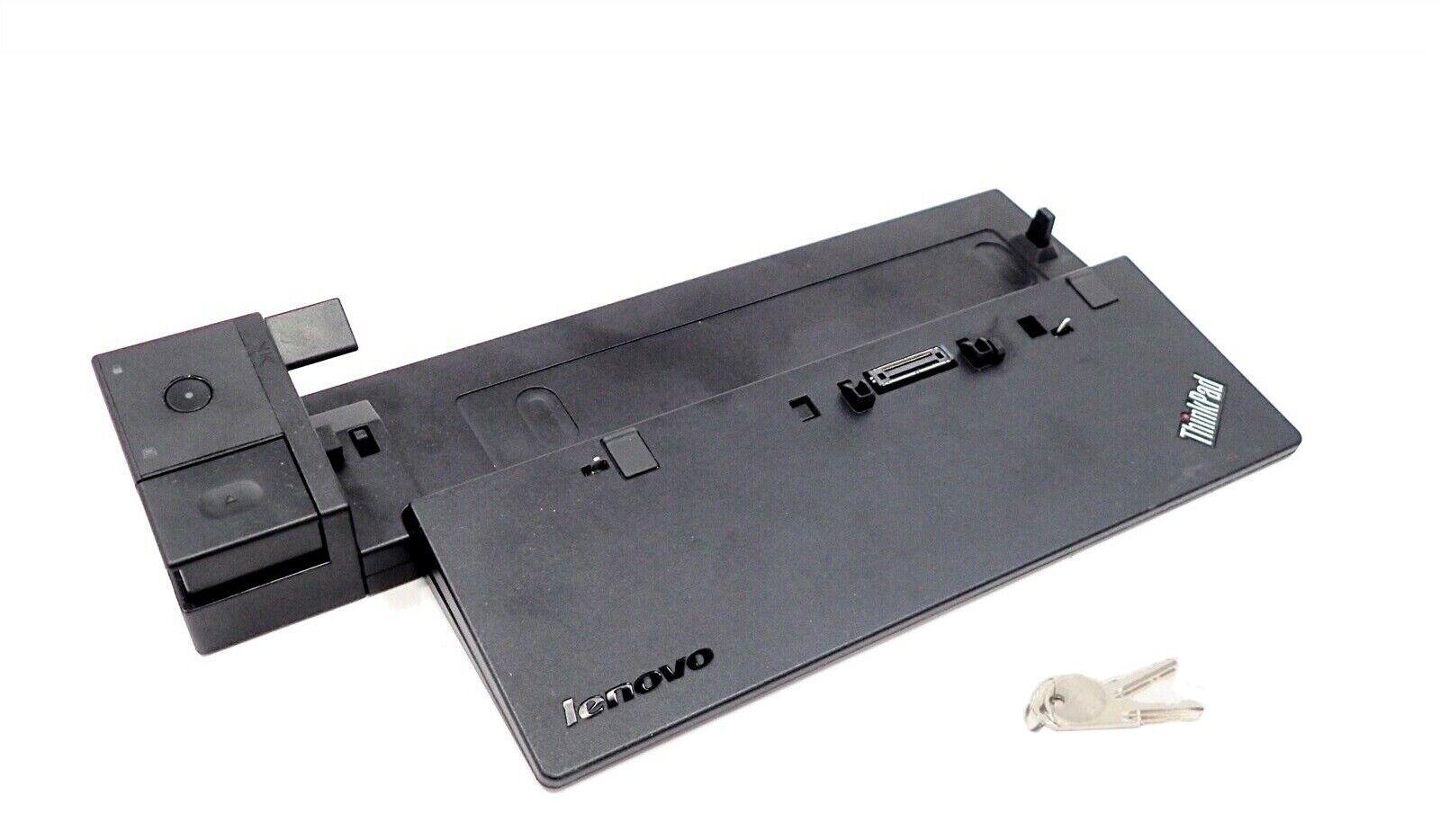 Lenovo Thinkpad 40A2 Ultra USB 3.0 Dock Station w//Key T440 T540 X240 L640 T460