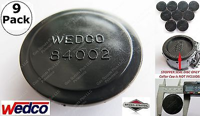 9 Wedco Disc Stoppers 84002 Genuine Briggs Stratton Essence Gas Can Jug Part