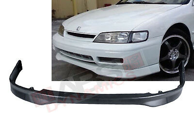Mugen Style Front lip for 1996-97 Honda Accord 2//4DR Unpainted Polyproplyene