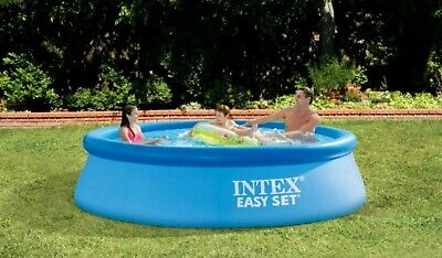 Intex 10ft X 30in Easy Set Above Ground Swimming Pool, w/o Pump, FAST SHIP