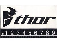 Motocross MX Aufkleber Dekor Factory Sticker Set Kit Vertex Thor Hinson FMF UFO