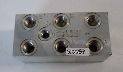 Daman Aluminum Manifold Block Ad03p032s