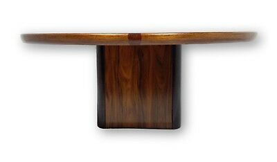 Rosewood Furniture -  Mid Century Rosewood coffee table with stunning grain by Jensen frokjaeras