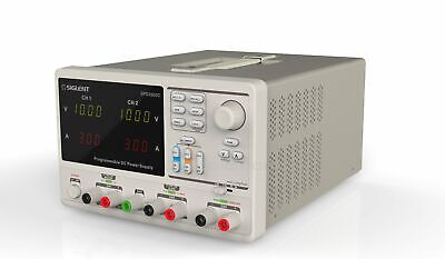 Siglent Spd3303c Dc Power Supply 3 Channel 30v 3a Linear Programmable Precision