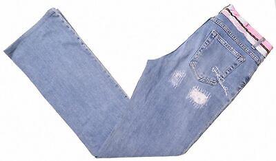 JUST CAVALLI Womens Jeans W28 L31 Blue Cotton Bootcut  KU05
