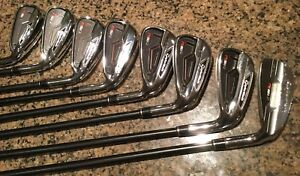 TaylorMade RSi graphite Iron Golf Club Set Mens RH -  M-Flex