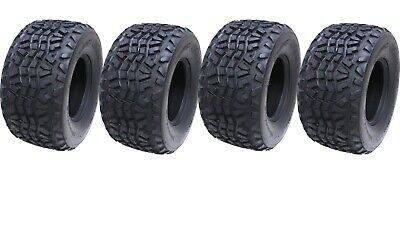 23x11.00-10 quad ATV tyre Kawasaki Mule Wanda P3077 4ply Utility tire - set of 4