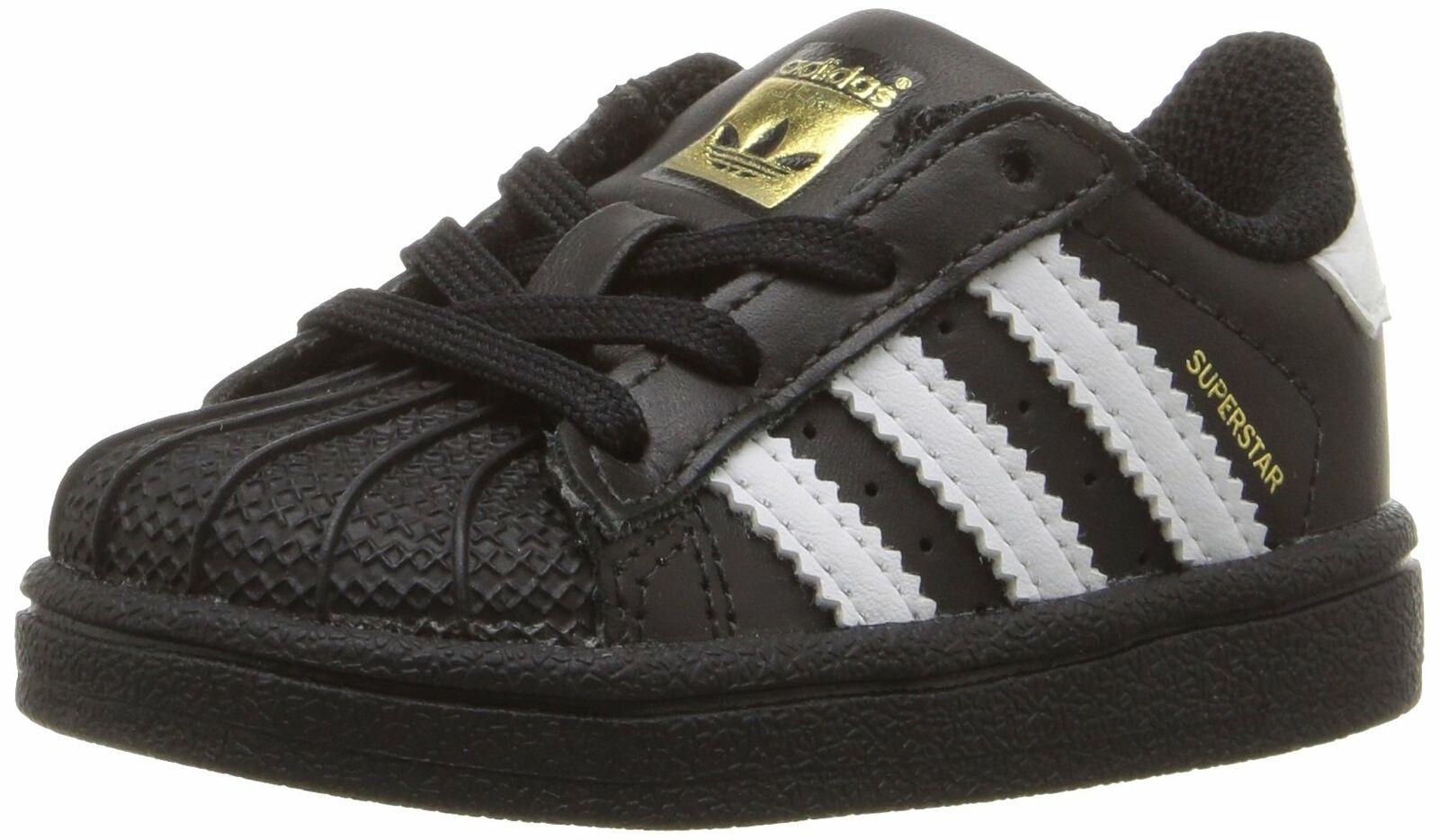 Adidas BB9078: Originals Black/White/White Baby Superstar Toddler Sneakers