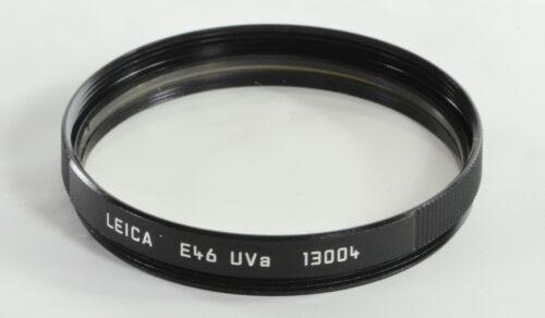 Genuine Leica E46 UVa filter #13004, excellent condition, no case