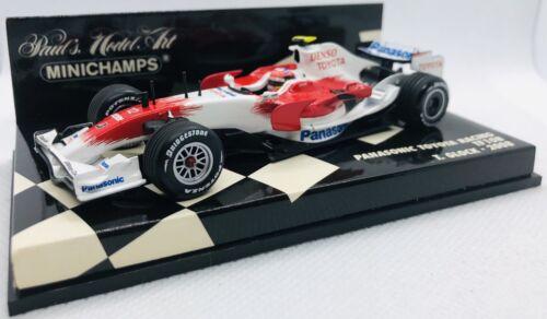 Kyosho 1//64 Toyota TF 107 2007 F1 Formula 1 No.12 J.Trulli