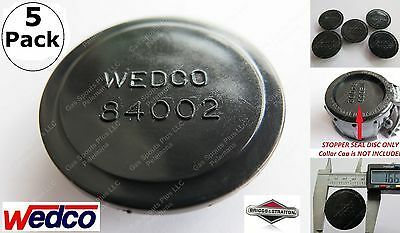 5-pack Wedco Stoppers 84002 Wedco Briggs Stratton Essence Gas Can Jug Repl Parts