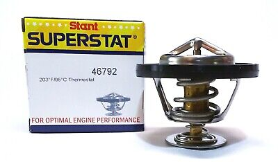 Engine Coolant Thermostat Superstat 203F- BETTER THAN OEM - Premium Stant